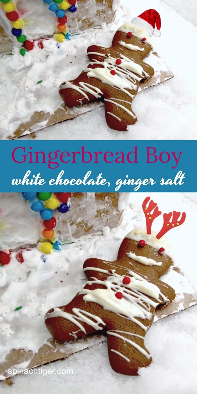 Gingerbread Boy with Ginger Salt