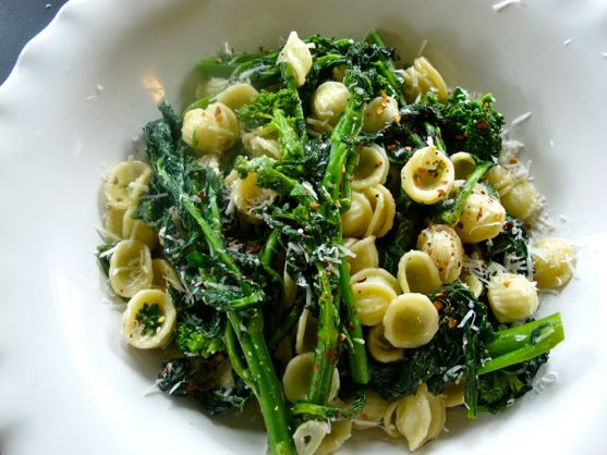 Broccoli Rabe Recipe with Orecchiette