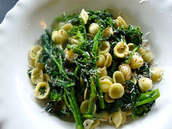 Broccoli Rabe Recipe with Orecchiette