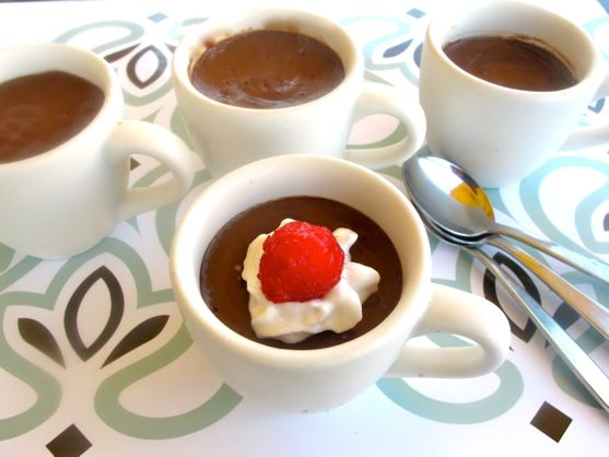Chcolate pots de creme by Angela Roberts