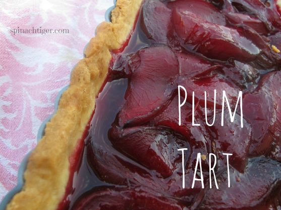 Plum Tart and How to Pick Plums