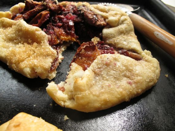 Dried Pear Galette by Angela Roberts