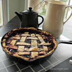 Blackberry PIe Crust Cobbler