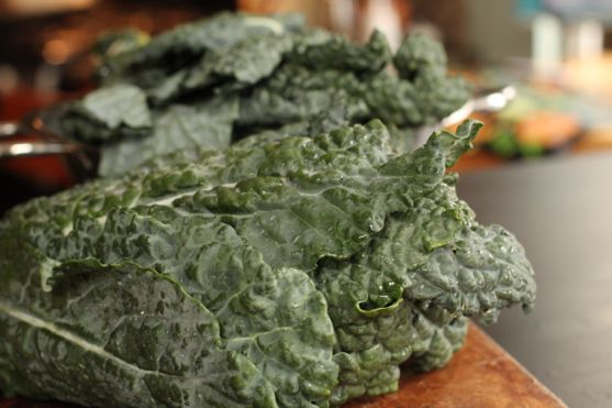 Chopped Kale Salad from Spinach Tiger