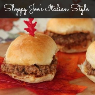 Sloppy Joe's Italian Style