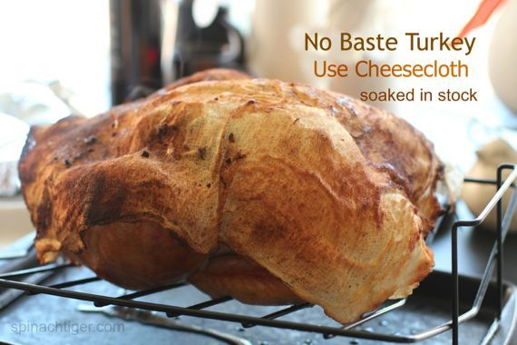 Roast Turkey Using Cheesecloth by Angela Roberts