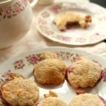 Hand Held Apple Pies, Laced with Raspberry Jam