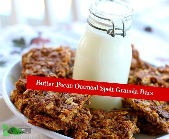 Butter Pecan Granola Bar