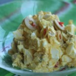 Egg, Olive and Cheese, A Delicious Egg Salad for Parties