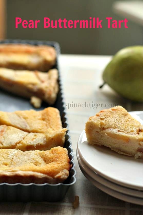 Buttermilk Pear Pie by angela Roberts