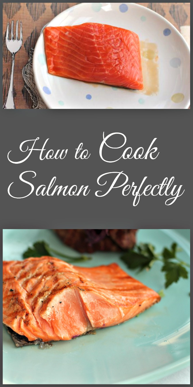 Cook Salmon Perfectly by Spinach Tiger