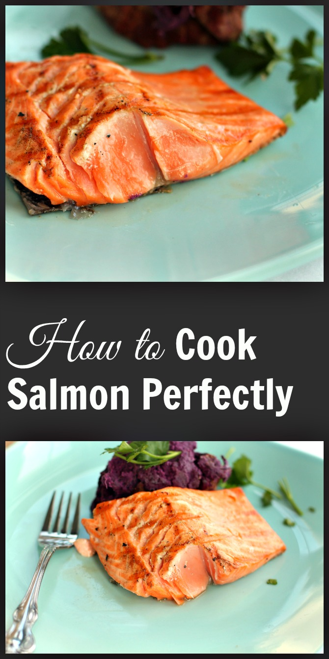 How to cook salmon perfectly by Spinach Tiger