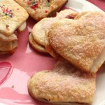 Heart Shaped Pear Pie Cookies
