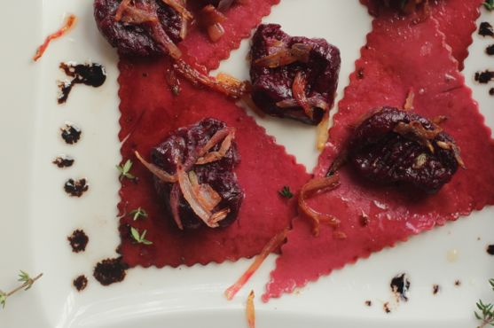 Creamy Roasted Beet Pasta Recipes — Dishmaps