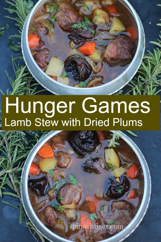 Hunger Games Lamb Stew with Dried Plumsby Angela Roberts