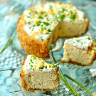 Savory Cheesecake with Chives