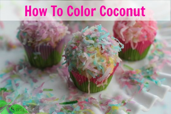 How to Color Coconut by Angela Roberts