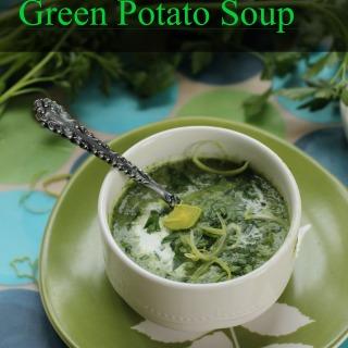 Green Potato Soup for St. Patrick