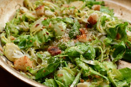 Brussels Sprouts Anchovy Sauce