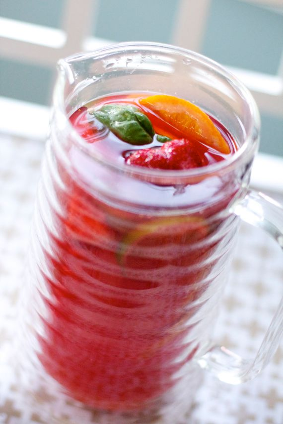 Holiday Side Dishes and Strawberry Sangria