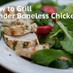 How to Tenderly Grill Boneless Chicken Breasts and Hazan Family Favorites Cookbook