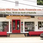 Thomas Drugs Old Time Soda Fountain via Spinach Tiger