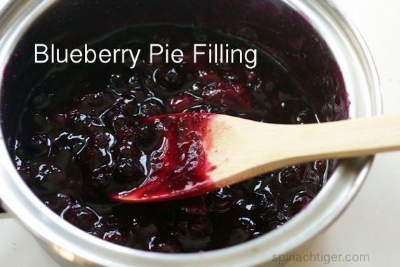 Angel Food Cake And Blueberry Pie Filling Recipe