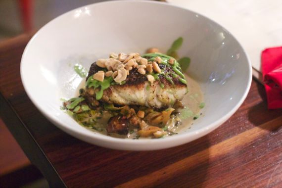 Silly Goose - Porcini Crusted Grouper