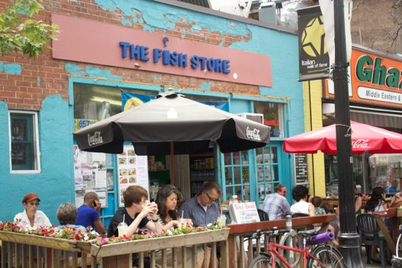 Post image for The Fish Store in Toronto-Eating in Toronto