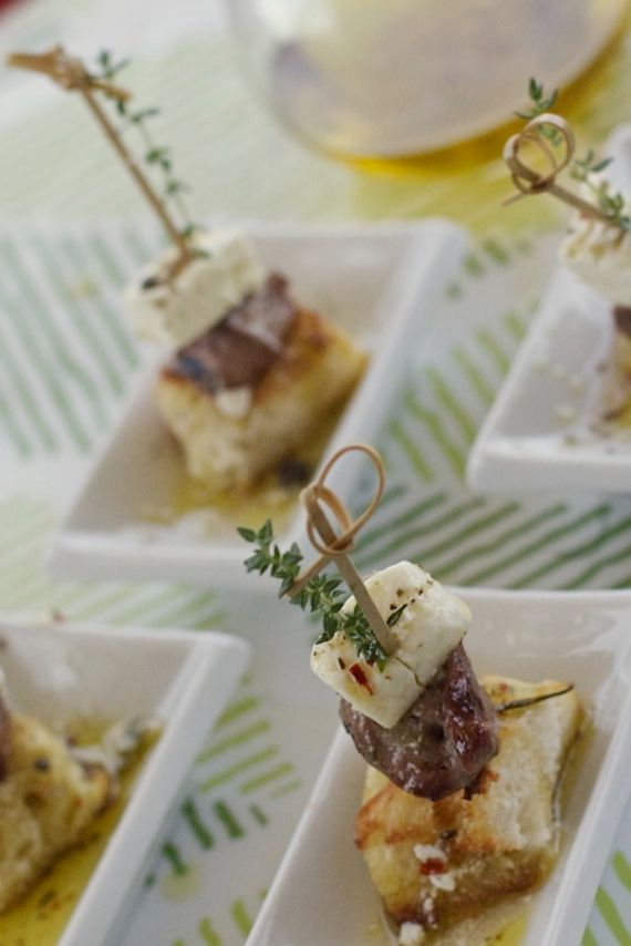 Lamb Feta Party Bites by Angela Roberts