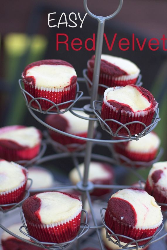 Red Velvet Cheesecake Cupcakes Spinach Tiger