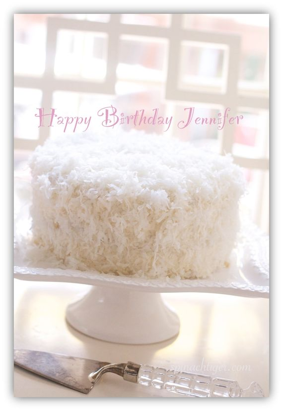 Old fashioned coconut cake by Angela Roberts
