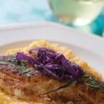 Fish & Sweet Potato Grits 3 via Angela Roberts