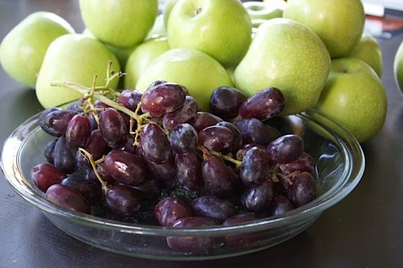 Apple & Grape Tart, for a Beautiful Holiday Pie Table ...