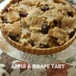 Apple & Grape Tart, for a Beautiful Holiday Pie Table