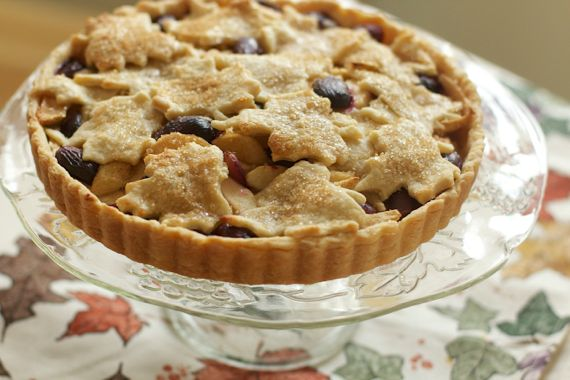 Apple & Grape Tart by Angela Roberts