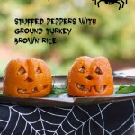 Halloween Stuffed Peppers and the Scarecrows of Cheekwood