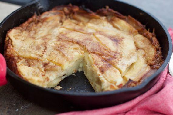 Dutch Apple Layer Cake Recipe