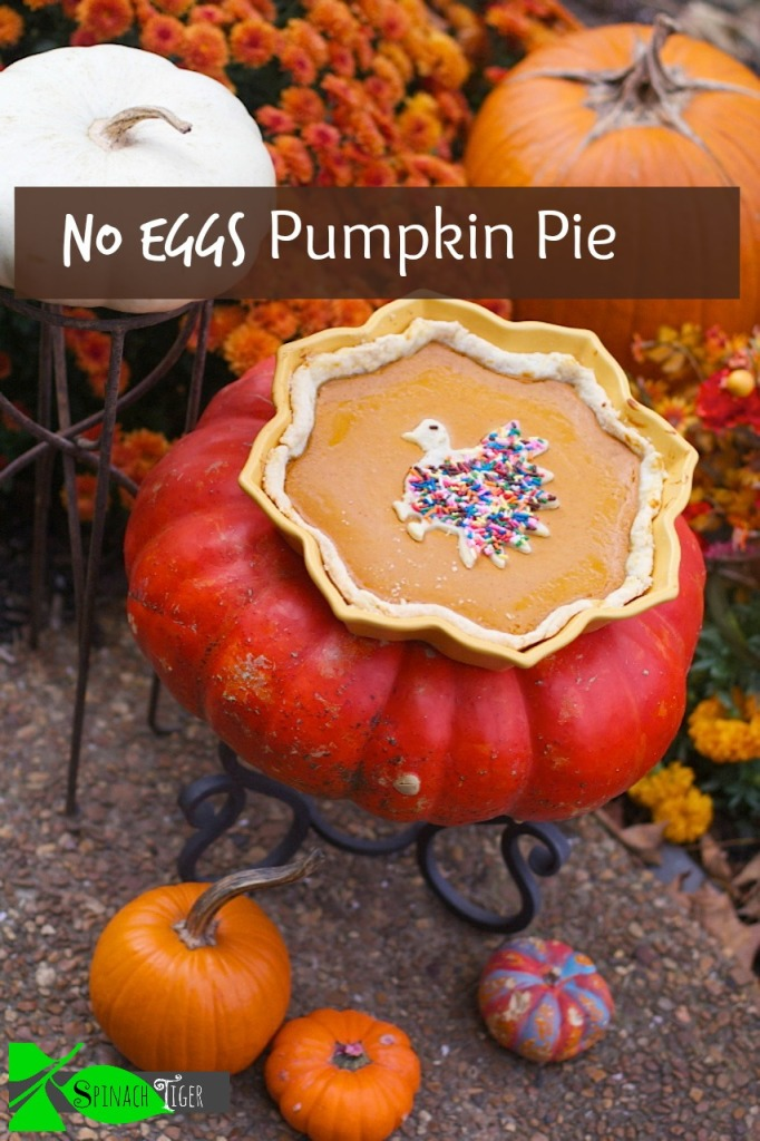 Cream Cheese Pumpkin Tart made without eggs by Angela Roberts