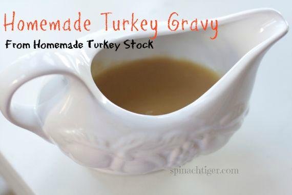 Turkey Stock, Turkey Gravy