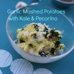 Kale Garlic Mashed Potatoes with Pecorino by Angela Roberts