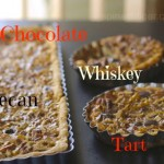 Chocolate Whiskey Pecan Tart or Steeplechase Pie