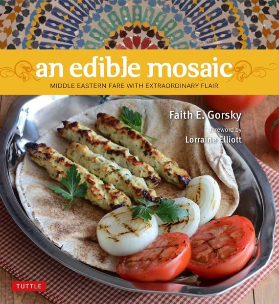 Faith's Saffron Rice and Edible Mosaic Cookbook Launch