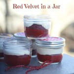 Red Velvet in a Jar for Red to Remember