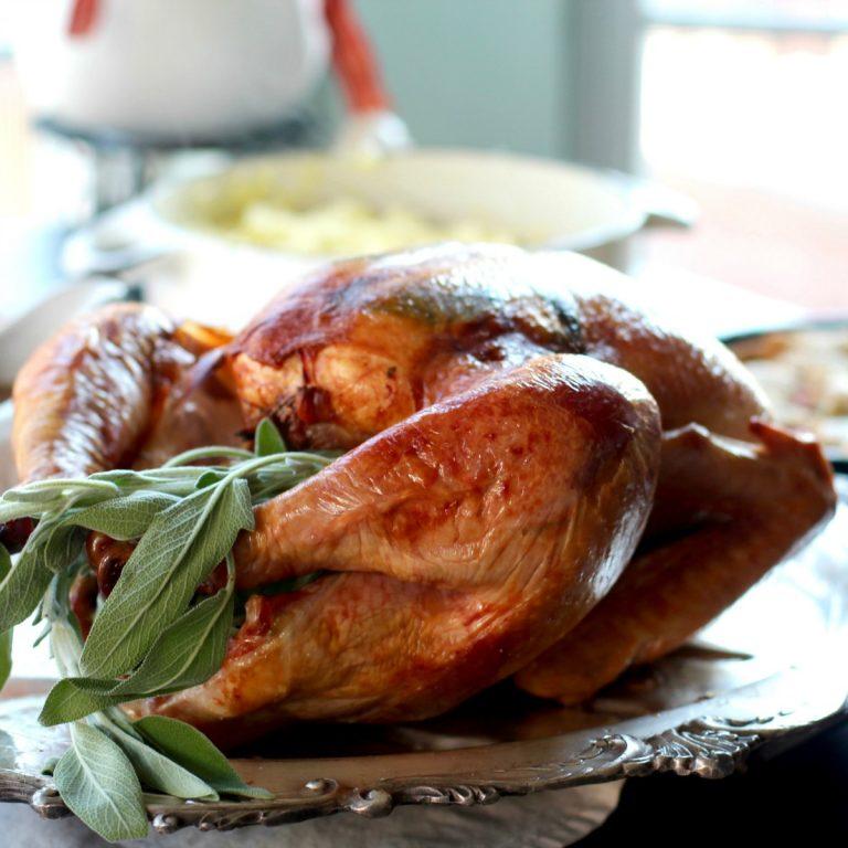 No Baste Holiday Turkey | Healthy Thanksgiving Recipes | Homemade Recipes