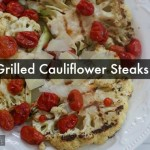 Grilled Cauliflower Steak with Roasted Tomatoes