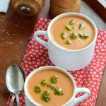 An Edible Mosaic Tomato Soup for Red to Remember