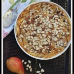 Pear Almond Clafoutis by Angela Roberts