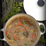 Veal & Turnip Stew by Angela Roberts