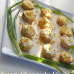 Savory Cheesecake Recipe Bites, Perfect for the Party